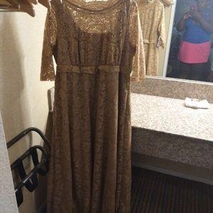 Kiyonna Plus Size Gown Size 2